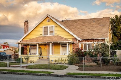 Rialto Single Family Home For Sale: 211 N Palm Avenue