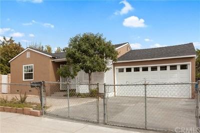 Sun Valley Single Family Home For Sale: 7912 Vineland Avenue