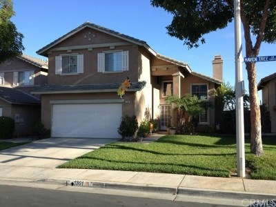 Corona Single Family Home For Sale: 1351 Haven Tree Lane