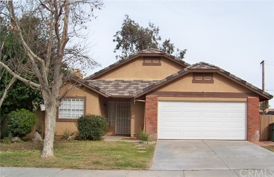 Jurupa Single Family Home Active Under Contract: 4068 Sunnysage Drive