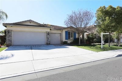 Menifee Single Family Home For Auction: 27753 Bluff Vista Way