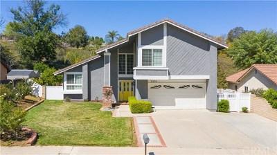 Corona Single Family Home For Sale: 2438 Antelope Drive