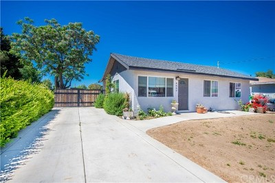 Norco Single Family Home Active Under Contract: 4662 Hillside Avenue