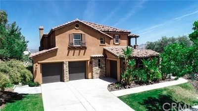 Corona Single Family Home For Sale: 8038 Sanctuary Drive