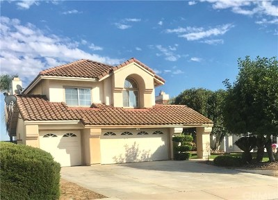 Murrieta CA Single Family Home For Sale: $540,000