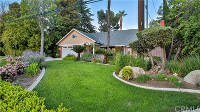Upland Single Family Home For Sale: 2474 Mountain Lane