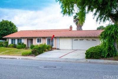 La Verne Single Family Home For Sale: 1304 Ruggles Street
