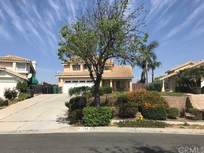 Corona Single Family Home For Sale: 736 La Cumbre Street