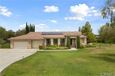 Riverside Single Family Home For Sale: 17944 Scottsdale Road