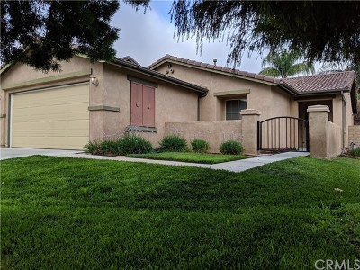 Lake Elsinore Single Family Home For Sale: 15301 Mesquite Drive