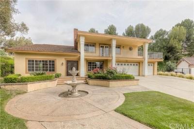 Anaheim Hills Single Family Home For Sale: 6190 E Via Sabia