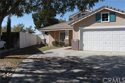 Lancaster CA Single Family Home For Sale: $282,500