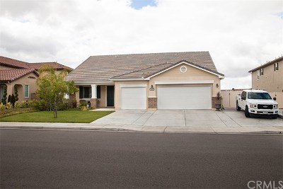 Winchester Single Family Home For Sale: 31359 Verde Mare Drive