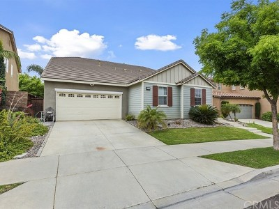 Corona Single Family Home For Sale: 25103 Cliffrose Street