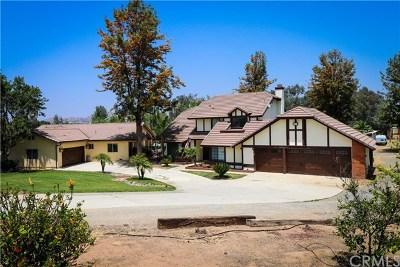 Riverside Single Family Home For Sale: 18572 Chickory Drive