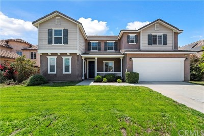 Eastvale Single Family Home For Sale: 7897 Withers Way