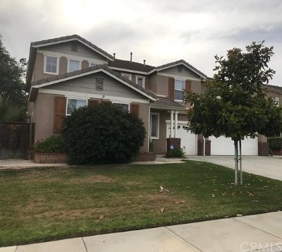Moreno Valley Single Family Home For Sale: 13319 Letterman Street