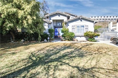 Rancho Cucamonga Single Family Home For Sale: 4930 Saddlewood Place