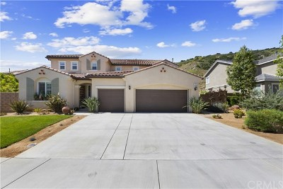 Corona Single Family Home For Sale: 7413 Sanctuary Drive