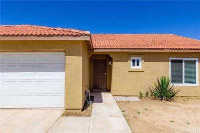 Adelanto Single Family Home Active Under Contract: 10940 Desert Rose Court