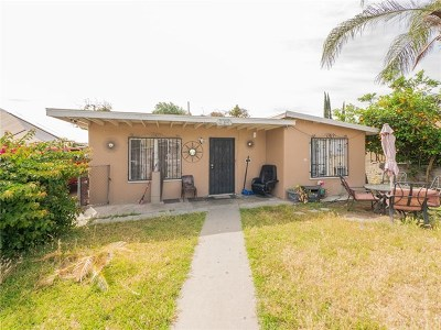 El Monte Single Family Home For Sale: 2324 Valwood Avenue