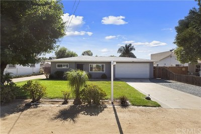 Norco Single Family Home Active Under Contract: 2852 Sierra Avenue