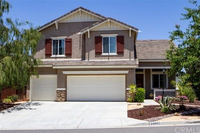 Wildomar Single Family Home For Sale: 24882 Rainbarrel Road