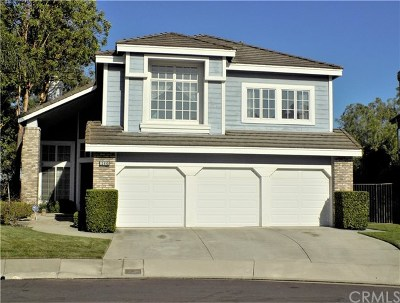 Chino Hills Single Family Home Active Under Contract: 13995 Plum Hollow Lane
