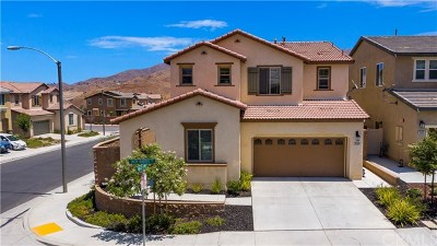 Corona Single Family Home For Sale: 25420 Jack Rabbit Lane