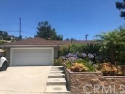 Diamond Bar Single Family Home For Sale: 580 Charmingdale Road