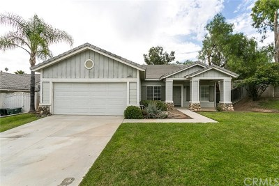 Corona Single Family Home For Sale: 2395 Santana Way