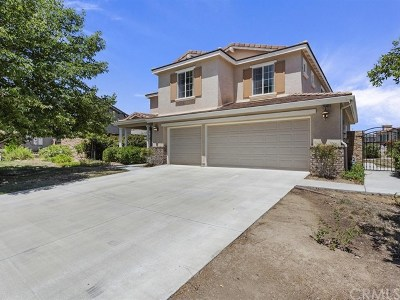 Wildomar Single Family Home For Sale: 33309 Chert Lane