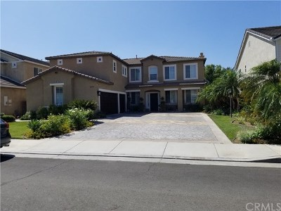 Eastvale Single Family Home For Sale: 12487 Feather Drive