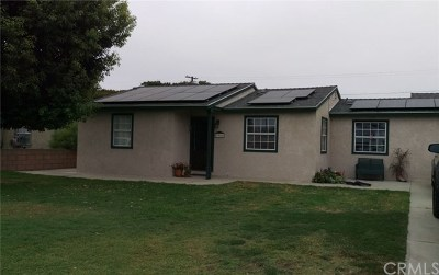 Chino Single Family Home For Sale: 3966 Christina Road