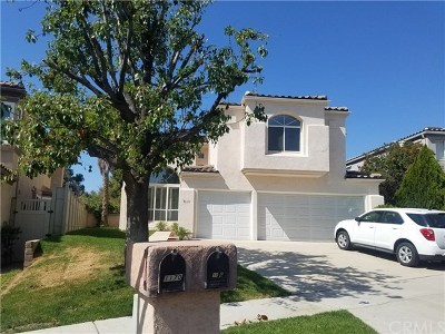 Corona Single Family Home For Sale: 1176 Ginger Lane