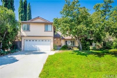 Corona Single Family Home For Sale: 1494 Brookdale Drive