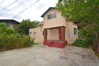 Los Angeles Single Family Home For Sale: 1458 Wallace Avenue