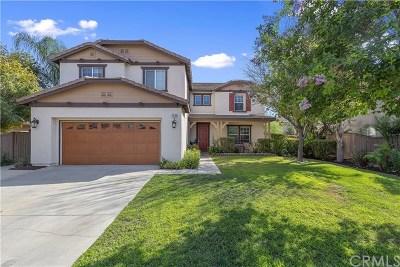 Corona Single Family Home For Sale: 10199 Whitecrown Circle