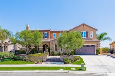 Corona Single Family Home For Sale: 22498 Amber Eve Drive