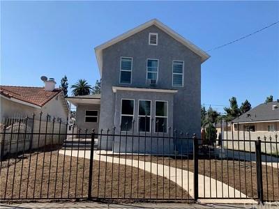 Pomona Multi Family Home For Sale: 644 W Center Street