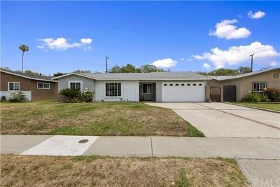 Santa Ana CA Single Family Home For Sale: $625,000