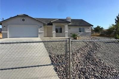 Hesperia CA Single Family Home For Sale: $334,000