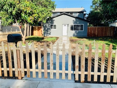 Long Beach Single Family Home For Sale: 2946 Gale Avenue