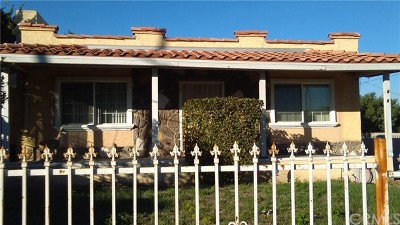 Los Angeles Single Family Home For Sale: 419 W 127th