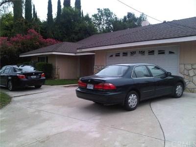 La Verne Single Family Home For Sale: 2710 San Dimas Canyon Road