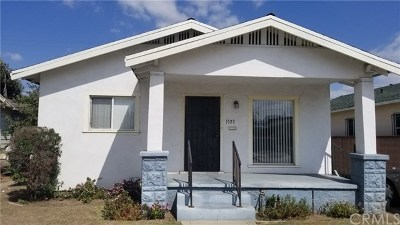 Los Angeles County, Orange County, Riverside County, San Diego County Single Family Home For Sale: 1527 W 66th Street