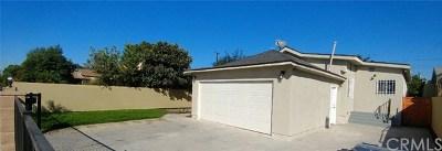 Compton Single Family Home For Sale: 2063 E Nord Street