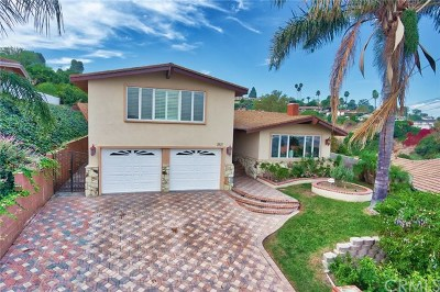 Rancho Palos Verdes Single Family Home For Sale: 2521 Colt Road