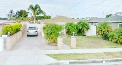 Lawndale Multi Family Home For Sale: 14821 Freeman Avenue