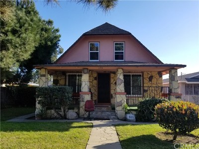 Los Angeles Single Family Home For Sale: 522 W 92nd Street
